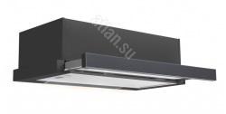 Вытяжка ATLAN SYP-3002 60 см black стекло/Glass Panel