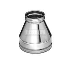Конусы Ferrum для дымоходов-сэндвич из нержавеющей стали