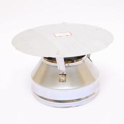 Оголовок Ferrum (430/0,5) для дымоходов-сэндвич Ø110х200