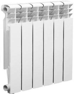 Биметаллический радиатор Оазис 500/80 8 секций