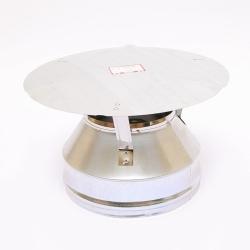 Оголовок Ferrum (430/0,5) для дымоходов-сэндвич Ø 110х200