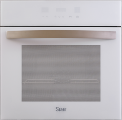 Духовой шкаф электрический SVAR 6012.01эшв-090 S Ultra (белое стекло)