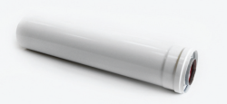 CE6-0.25 Удлиннение дымохода коаксиальное Ф60/100 L=250 C-EXT-01-0,25 SAMRISE