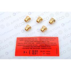 290954 Комплект перевода на сжиженный газ SGA 200 R (основная горелка)