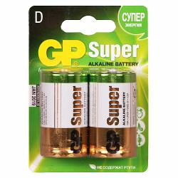 Батарейки GP LR20 BL2 (13A) (20/160)