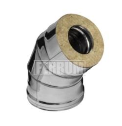 Сэндвич-колено Ferrum 135° из оцинкованной стали